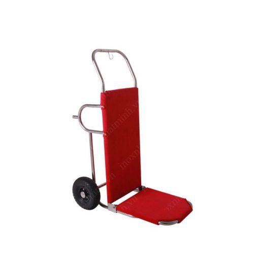 Xe đẩy hành lýinox khách sạn