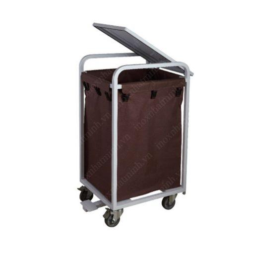 Xe đẩy đồ giặt là VS62X11 có nắp đậy