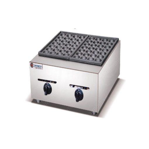 Máy làm Takoyaki dùng gas (2 khuôn) ZH-2G