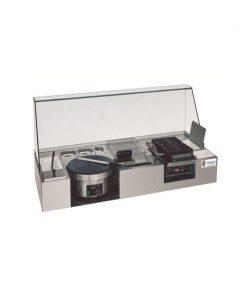 Bộ tủ kính làm bánh Crepe và Waffles ZH-421E