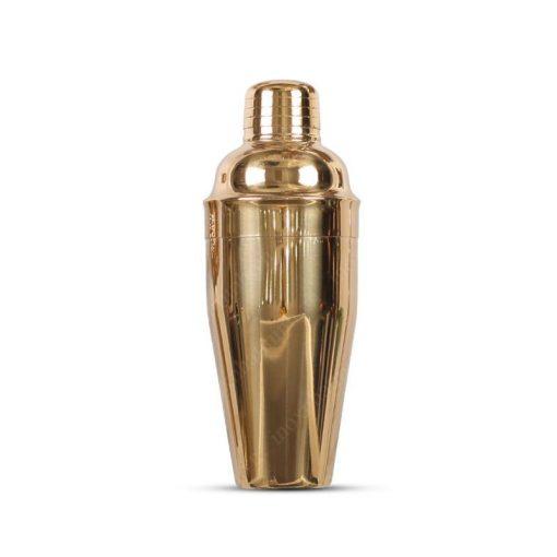Dụng cụ pha rượu shaker mạ vàng QB95D06-1