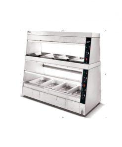 Tủ trưng bày giữ nóng dùng điện ZH-6P