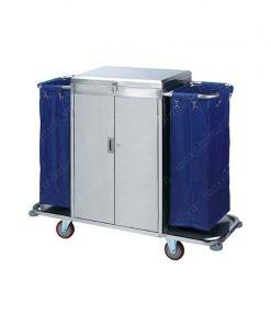 Xe dọn phòng inox có Cửa VS61X07-304