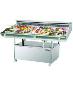 Tủ mát trưng bày thịt cá Berjaya FDC4