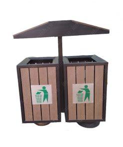 Thùng phân loại rác bảo vệ môi trường TS032