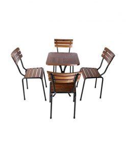 Bộ Bàn Ghế Café Ngoài Trời PT-BGV-0041