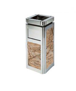 Thùng rác trang trí đá hoa cương TS009010W