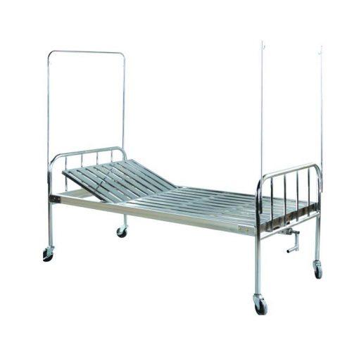 Giường y tế 9 tấc không cần xoay có bánh xe TBYT-002