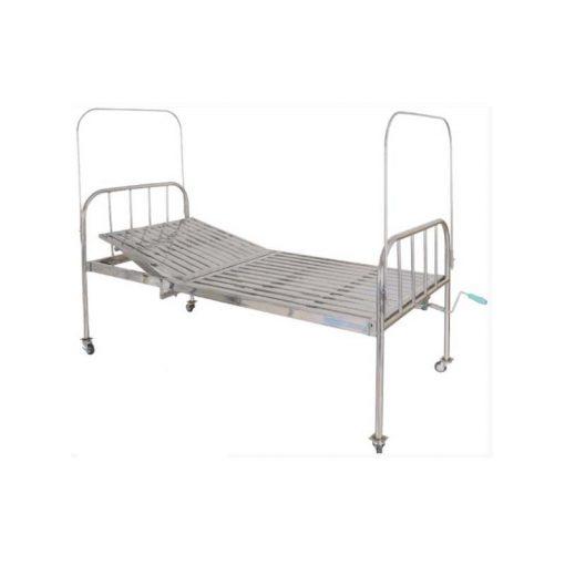 Giường y tế 9 tấc có cần xoay có bánh xe TBYT-001