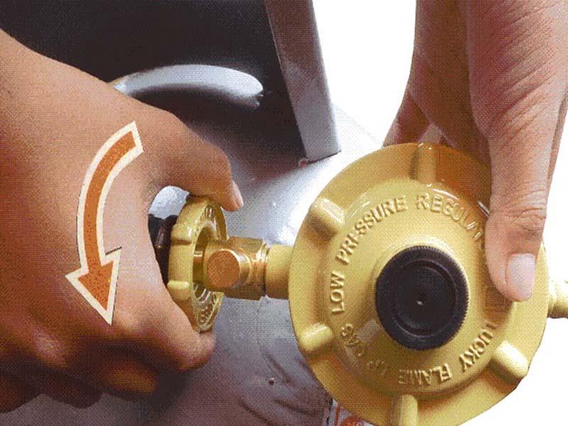 Hướng dẫn khóa van gas công nghiệp an toàn