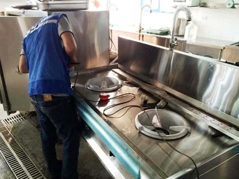 Các nguyên tắc lắp đặt bếp gas công nghiệp đúng cách