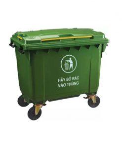 Thùng rác công nghiệp lớn 660L